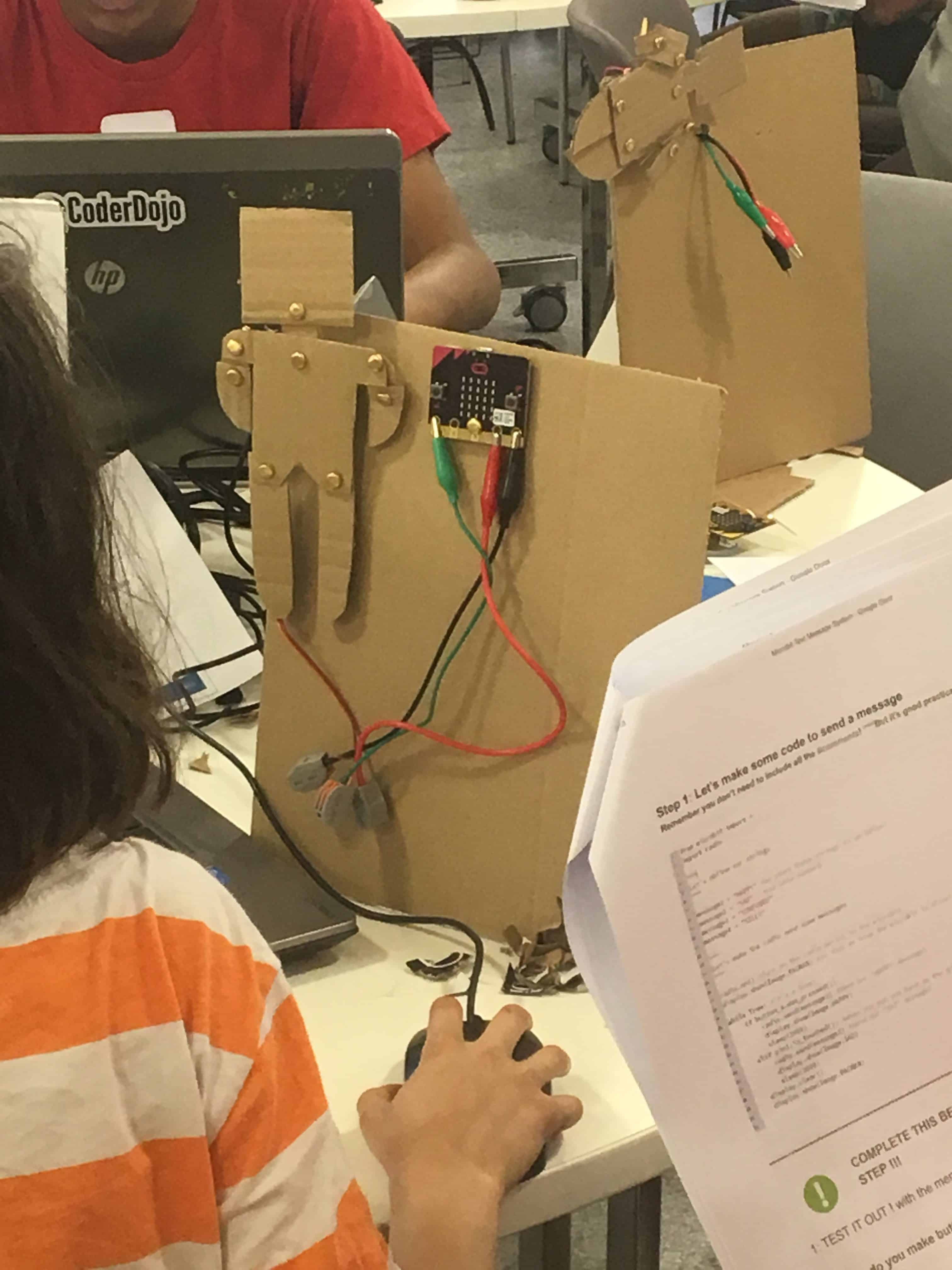 The Message System 10 To No Limit Wiring Messages For Code Participants Had Choice Between Java Script Block And Micropython Using Mu Is A Simple Editor Beginner Programmers
