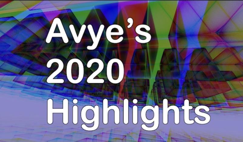 Avye's 2020 highlights